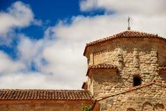 La Anunciada, detail. Arquitectural detail of the shrine of La Anunciación. Urueña, Spain Royalty Free Stock Photography