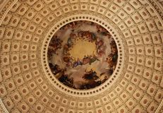 La apoteosis de Washington Fotos de archivo