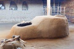La arcilla bien con el sistema de enfriamiento del siglo de bronce Imagen de archivo