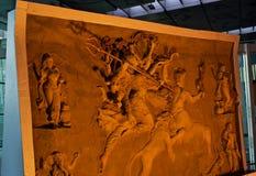 La arcilla elegante hizo la escultura de la foto única de dios religioso hindú Imagen de archivo