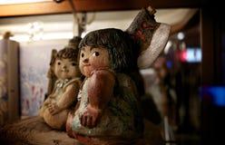 La arcilla juega figurado en Tokio imagen de archivo libre de regalías