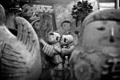 La arcilla juega figurado en Tokio fotografía de archivo libre de regalías