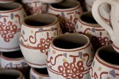 La arcilla tradicional rumana ahueca a los detalles imagen de archivo libre de regalías