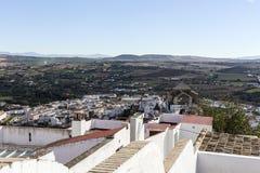 la arcos de frontera андийский Испания Стоковое Фото