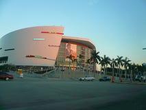 La arena de American Airlines, hogar de los Miami Heat Fotos de archivo libres de regalías