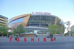 La arena de T-Mobile en Las Vegas Fotos de archivo libres de regalías
