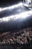 La arena del baloncesto rinde Fotografía de archivo libre de regalías