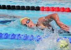 La arena internacional de la reunión de XXIIe de la natación Fotografía de archivo libre de regalías