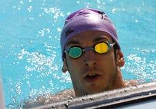 La arena internacional de la reunión de XXIIIe de la natación Imagen de archivo libre de regalías