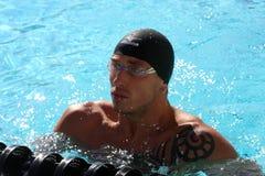 La arena internacional de la reunión de XXIIIe de la natación Fotos de archivo