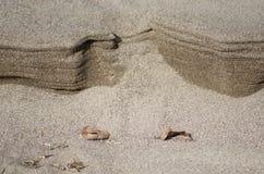 La arena ondula la formación fotografía de archivo libre de regalías