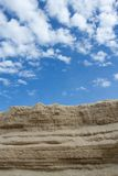 La arena se sobrepone que Imagenes de archivo