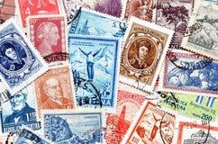 La Argentina en sellos Imágenes de archivo libres de regalías