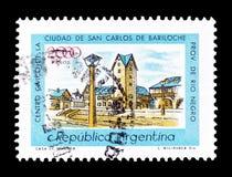 La Argentina en sellos imagen de archivo libre de regalías