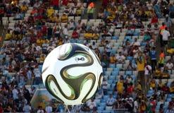 La Argentina y ALEMANIA fútbol de 2014 mundiales Imagen de archivo