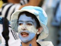 La Argentina y Bosnia fútbol de 2014 mundiales Imagen de archivo libre de regalías