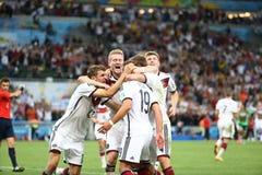 La Argentina y Bosnia fútbol de 2014 mundiales Fotos de archivo libres de regalías