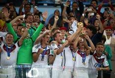 La Argentina y Bosnia fútbol de 2014 mundiales Foto de archivo libre de regalías