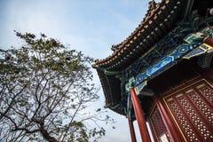 La arquitectura antigua de China Imágenes de archivo libres de regalías