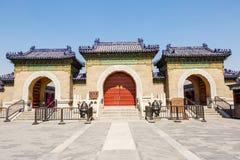 la arquitectura antigua más famosa del mundo del Templo del Cielo en Pekín, China Foto de archivo