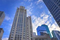 La arquitectura de Chicago, Illinois imagen de archivo