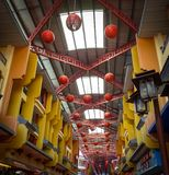 La arquitectura de la ciudad de China imagen de archivo