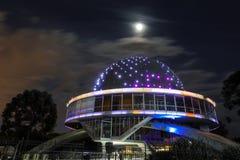La arquitectura de la esfera del planetario de Galileo Galilei en Buenos Aires, la Argentina fotografía de archivo