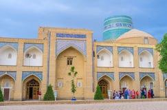 La arquitectura de Khiva Fotos de archivo libres de regalías