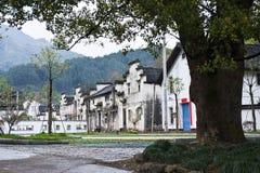 La arquitectura de la casa del chino tradicional Fotografía de archivo libre de regalías