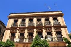 La arquitectura de las casas viejas en el rdoba del ³ de CÃ, España fotos de archivo libres de regalías