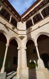 La arquitectura Monasterio de Montserrat (monasterio de Montserrat) Imagen de archivo libre de regalías