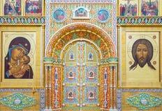 La arquitectura religiosa antigua del área de oro del anillo fotografía de archivo