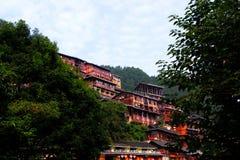 La arquitectura tradicional--Diao Jiao Lou Foto de archivo libre de regalías