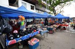 La artesanía vendió en el mercado filipino en Kota Kinabalu Fotos de archivo libres de regalías