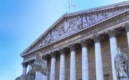 La asamblea nacional francesa, París, Francia Fotos de archivo