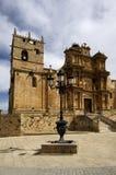 La Asuncion Church, Gumiel de Hizan, Burgos, Castilla Leon, Spain. View of the La Asuncion Church, Gumiel de Hizan, Burgos, Castilla Leon, Spain stock photos