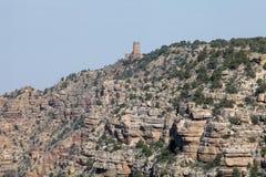 La atalaya famosa en Grand Canyon Fotografía de archivo