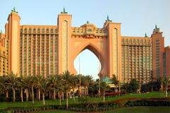 La Atlántida, el hotel de la palma en Dubai Imagenes de archivo