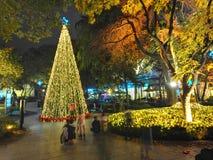 La atmósfera de la Feliz Año Nuevo ha sido Imagen de archivo libre de regalías