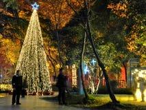 La atmósfera de la Feliz Año Nuevo ha sido Imagenes de archivo