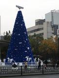 La atmósfera de la Feliz Año Nuevo ha sido Fotos de archivo