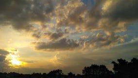 la atmósfera por la tarde Foto de archivo