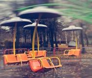 La atracción en el parque Fotos de archivo