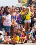 La audiencia en el festival Fotos de archivo