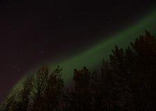 La aurora boreal Fotos de archivo