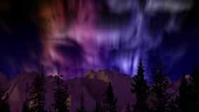La aurora boreal metrajes