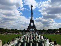 La-Ausflug Eiffel Stockfoto