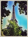 La-Ausflug Eiffel stockbilder