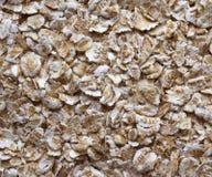 La avena rodada, harina de avena, forma escamas. Foto de archivo libre de regalías