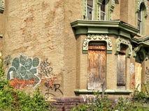 La avenida de Trumbull muestra signos de vida Foto de archivo libre de regalías